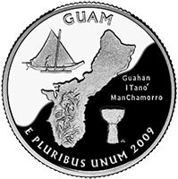 2009 S Guam Quarter Proof