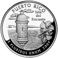 2009 S Puerto Rico Quarter Proof