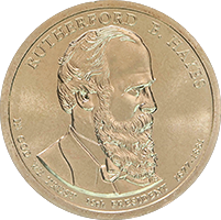 2011 D Rutherford B Hayes Dollar