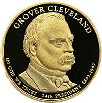 2012 S Grover Cleveland 2nd Dollar Proof
