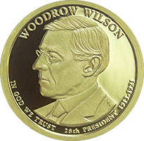 2013 S Woodrow Wilson Dollar Proof