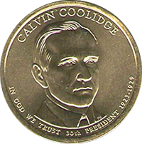2014 P Calvin Coolidge Dollar